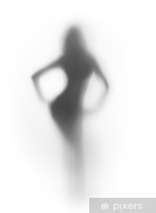 Sexy Woman Silhouette From Front Wall Mural  E2 80 A2 Pixers We Live To