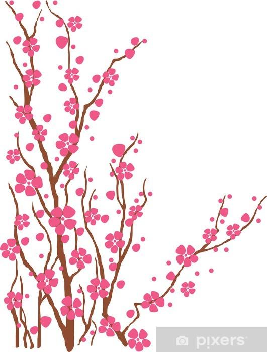 Vinilo Pixerstick Arbol de cerezo • Pixers® - Vivimos para cambiar