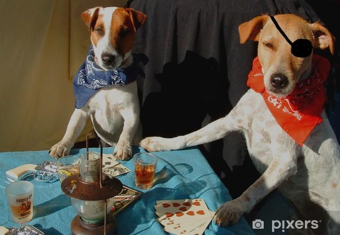 Naklejka Pixerstick Poker Critter gwiazda - wersja kolorowa - Zwierzęta