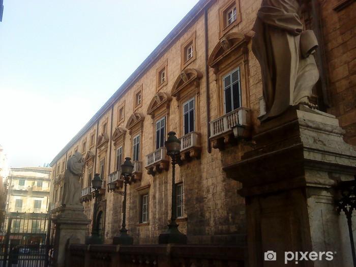 Carta Da Parati A Palermo.Carta Da Parati In Vinile Architettura Di Palermo