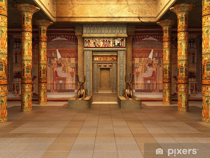 Pharaoh's Tomb Vinyl Wall Mural - iStaging