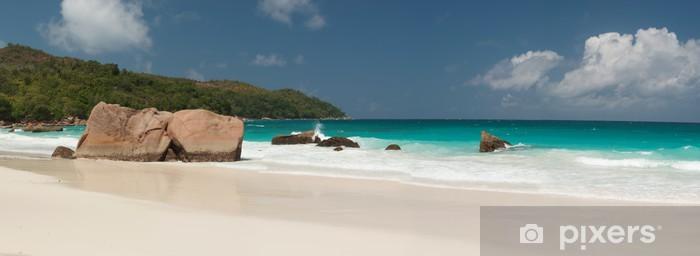 Papier peint vinyle Plages des Seychelles - Vacances