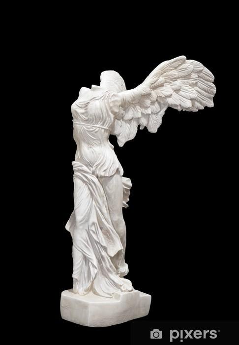 Pixerstick Sticker Winged Victory van Samothrace standbeeld - Kunst en Creatie