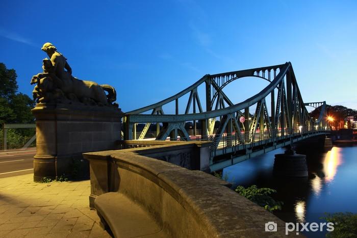 Fotomural Estándar Berlin / Potsdam: Puente Glienicke - Berlín