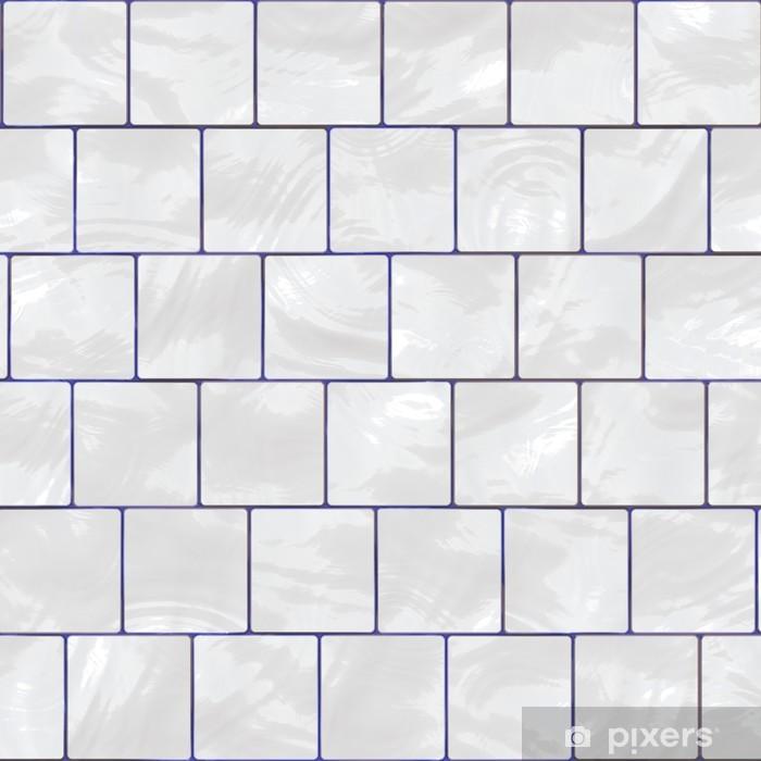 Papier Peint Carrelage Blanc Brillant Pixers Nous Vivons Pour