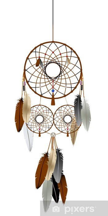 The dream catcher Vinyl Wall Mural - Criteo