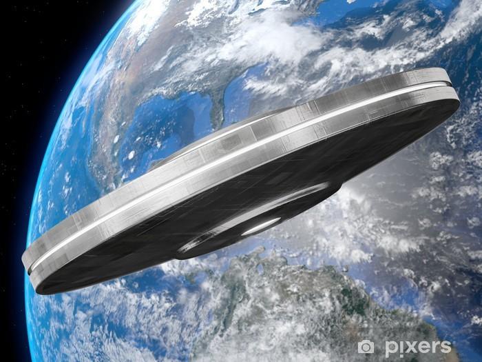 Naklejka Pixerstick Ufo - Życie