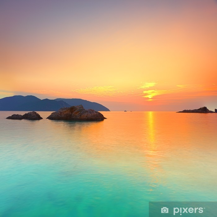 Sunrise Vinyyli valokuvatapetti -