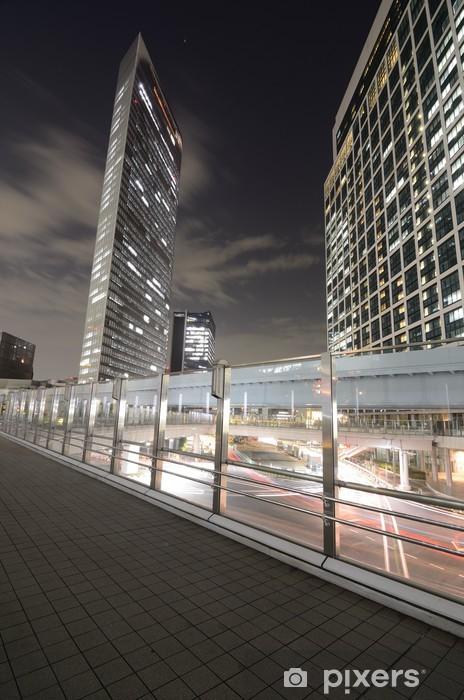 Fototapeta winylowa Tokio luksusowe wieżowce - Azja