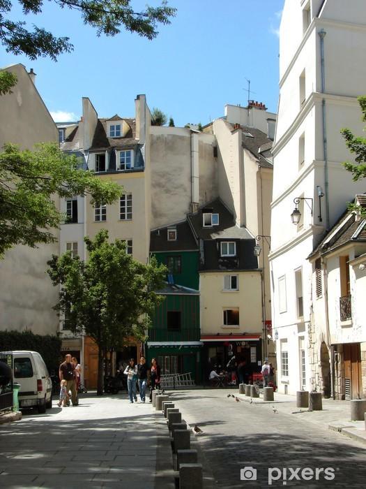 Vinylová fototapeta Typická ulice staré Paříže - Vinylová fototapeta