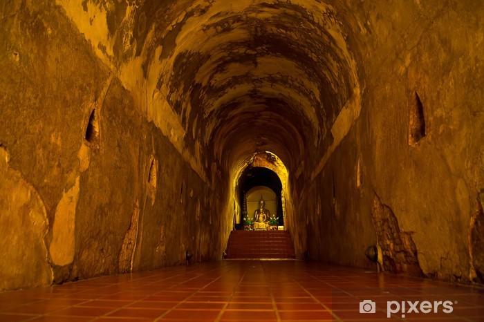 Naklejka Pixerstick Budda na końcu tunelu - Budynki użyteczności publicznej