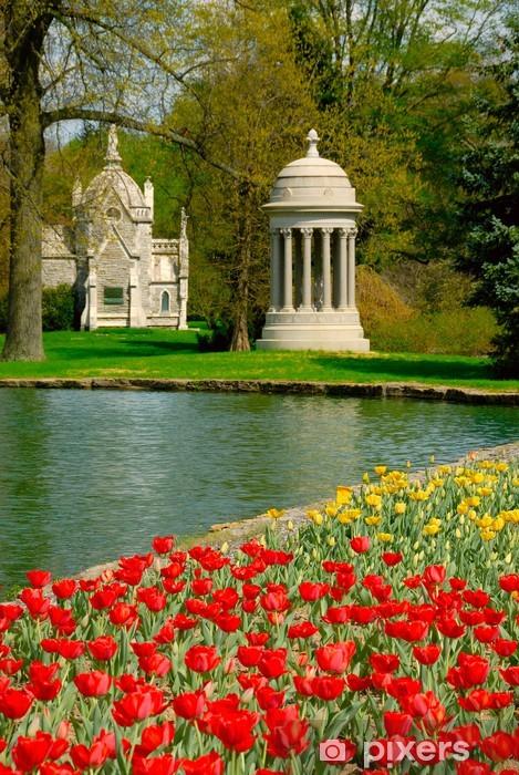 Fototapeta winylowa Spring Grove Cemetery - Budynki użyteczności publicznej