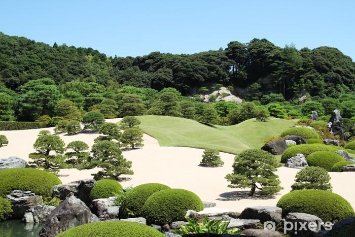 Naklejka Pixerstick Ogród japoński - Wakacje