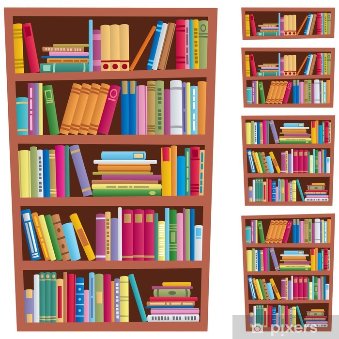 Plakat Półka na książki - Edukacja