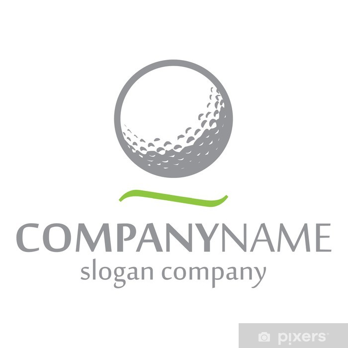 Golf Logo Identity Vinyl Wall Mural - Matches and Competitions