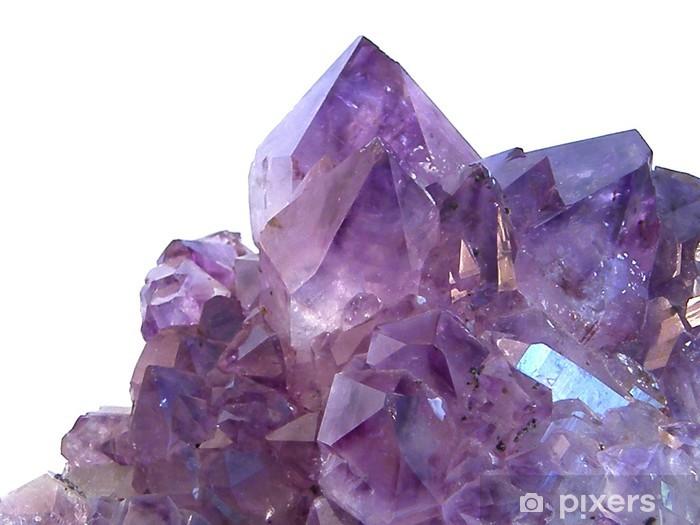 amethyst gem stone Pixerstick Sticker - Criteo