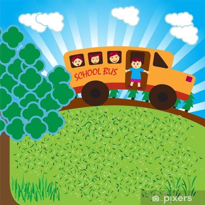 Plakat Autobus szkolny - Przeznaczenia