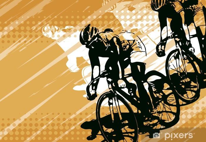 Fototapeta winylowa Wyścigi rowerów - Kolarstwo