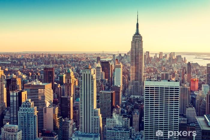 New York City Vinyl Wall Mural -