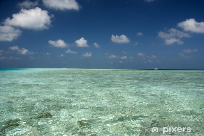 Nálepka Pixerstick Maledivské Dream - Prázdniny