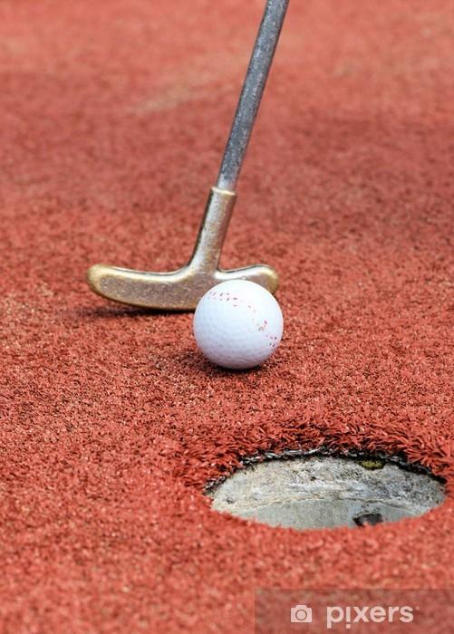 Fototapeta winylowa Mini Golf - Mecze i zawody