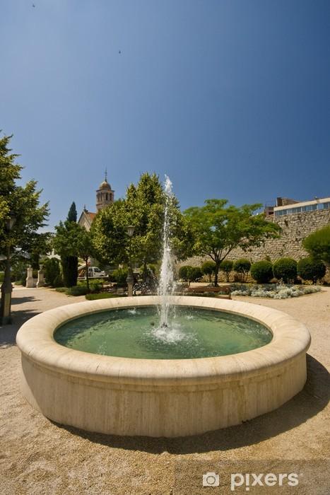 Fountain in the Robert Visiani park Vinyl Wall Mural - Europe