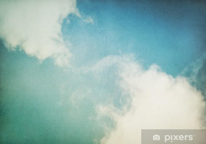 Fototapeta winylowa Vintage mgła i chmury - Tematy