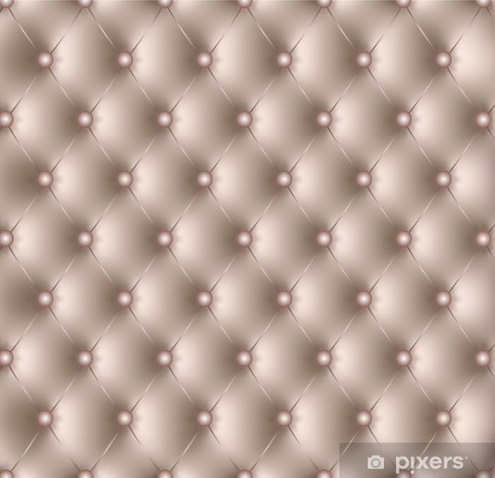 Capitonné beige-1 Pixerstick Sticker -