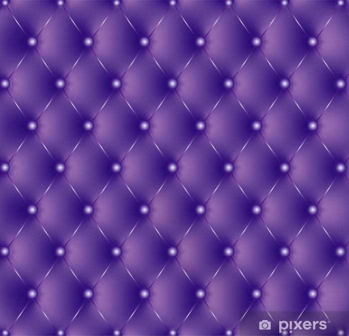 Sticker Pixerstick Capitonné boutons violets violettes-1 - Styles
