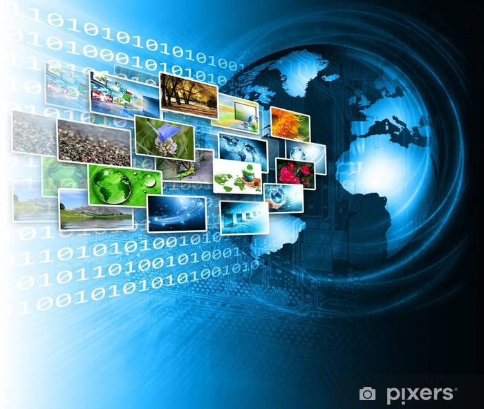 Sticker Pixerstick Meilleur Concept Internet du commerce mondial de concepts série - Signes et symboles