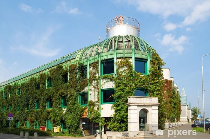 Naklejka Pixerstick Biblioteka Uniwersytecka w Warszawie - Europa