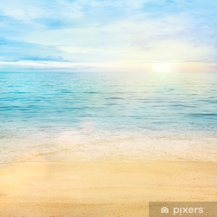Sea and sand background Poster - Styles