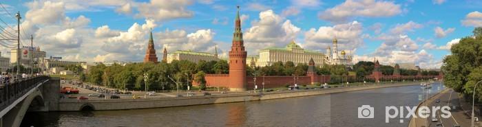 Sticker Pixerstick Panorama Kreml Moskau - Villes d'Asie