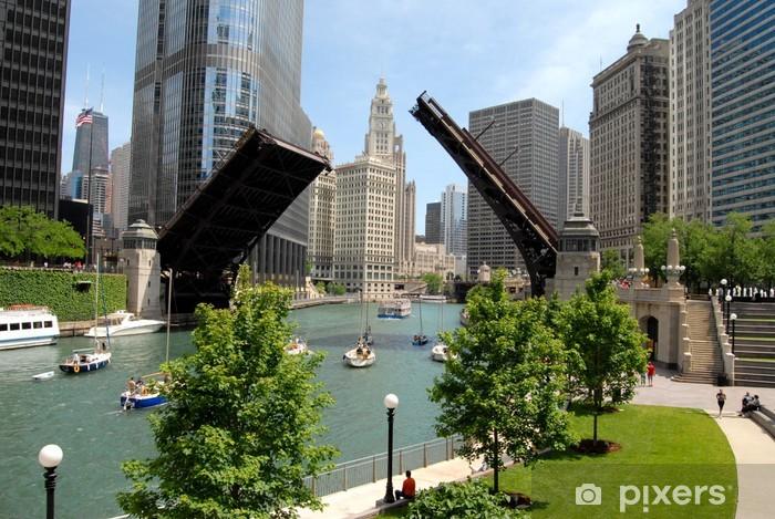 Naklejka Pixerstick Chicago, Illinois - Tematy
