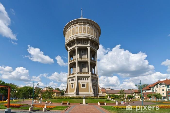 Nálepka Pixerstick Stará vodárenská věž v Szegedu - Evropa