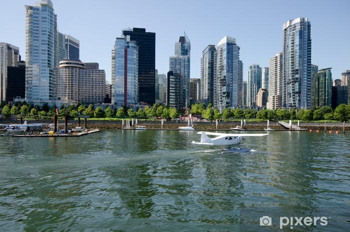 Carta da Parati in Vinile Coal Harbour Vancouver Canada - Vacanze