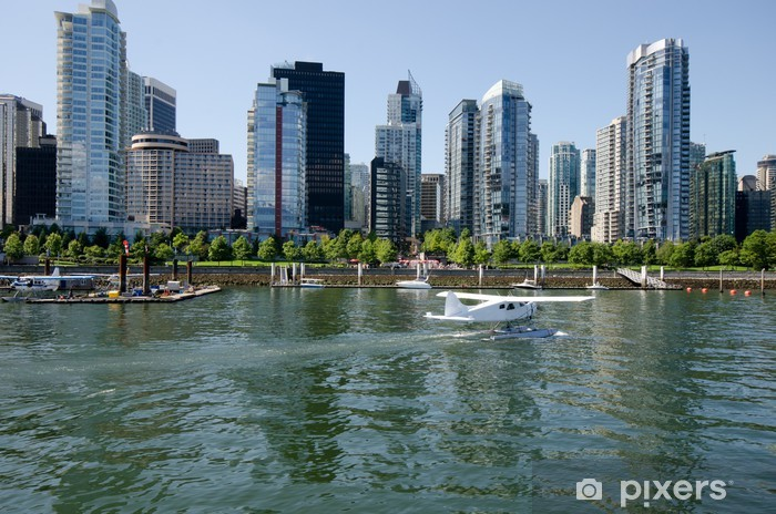 Coal Harbour Vancouver Canada Vinyl Wall Mural - Holidays