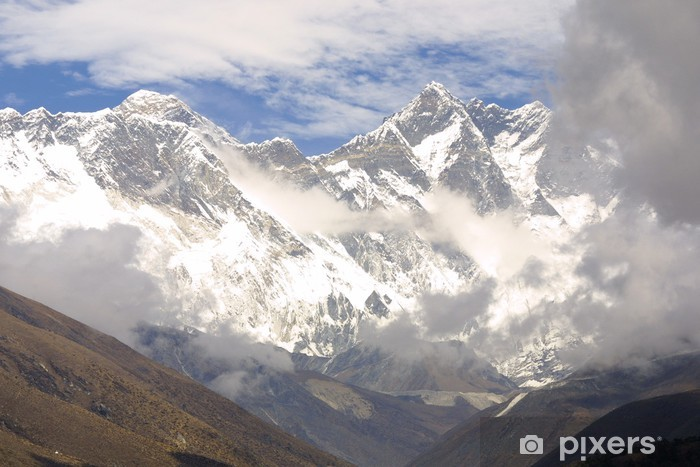 Fototapeta winylowa Mount Everest 8848 m - Nepal - Tematy