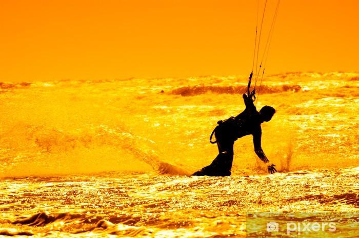 Naklejka Pixerstick Kitesurfing - Sporty wodne