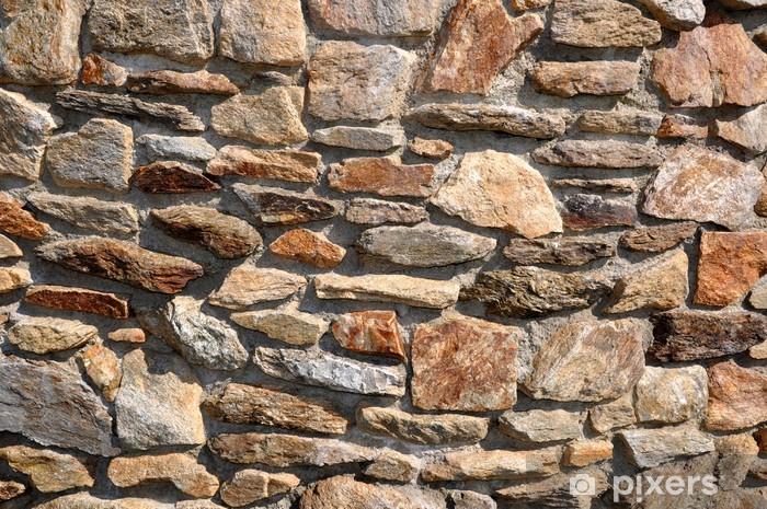 Nálepka Pixerstick Kamenná zeď - Témata