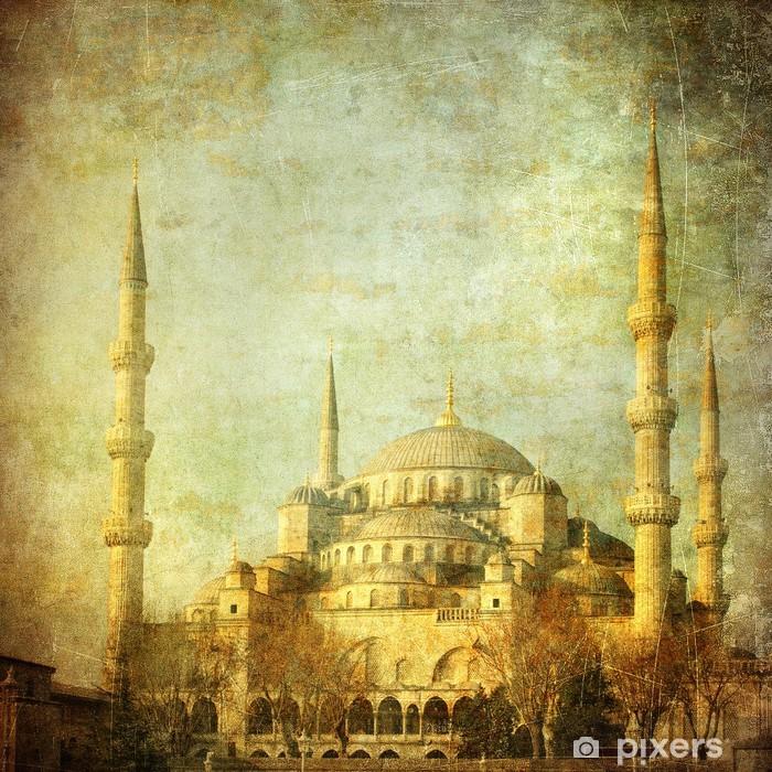 Fototapeta zmywalna Archiwalne zdjęcie z Błękitnego Meczetu, Istambul - Style