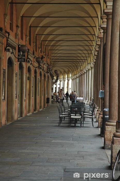 Naklejka Pixerstick Arkady Kolegium, Modena - Pejzaż miejski
