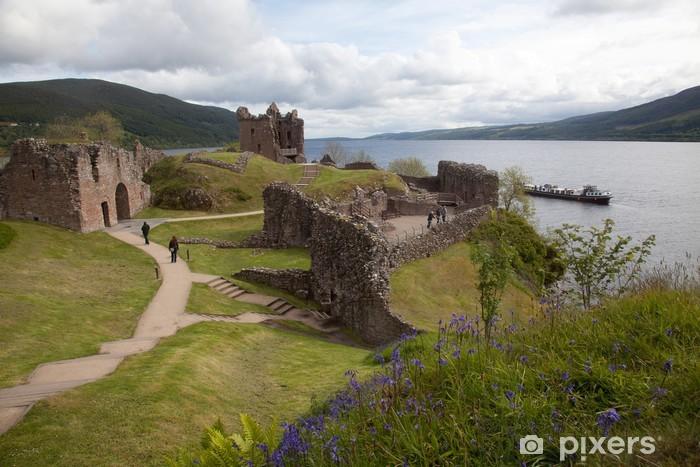Sticker Pixerstick Urquhart Castle - Vacances