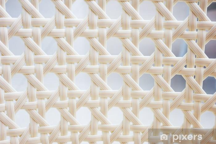 white basket weave Pixerstick Sticker - Backgrounds