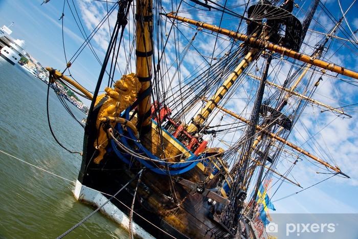 Papier peint vinyle Vieux sailship - Objets et accessoires