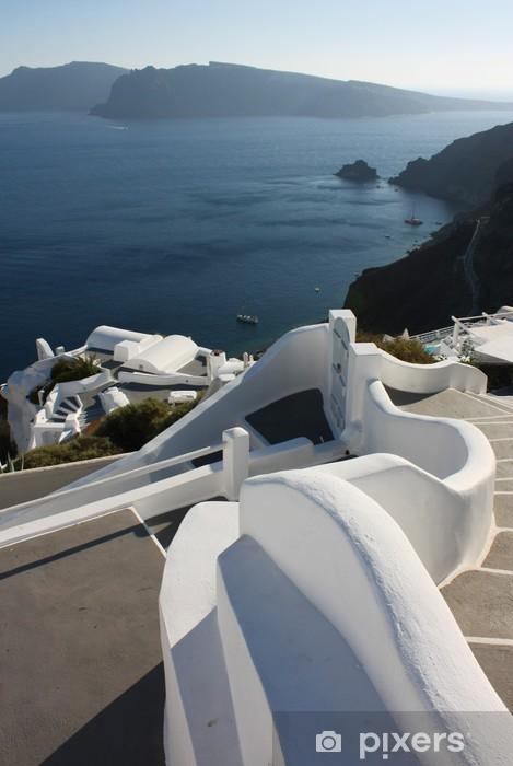 Fototapeta winylowa Santorini - Oia - Europa