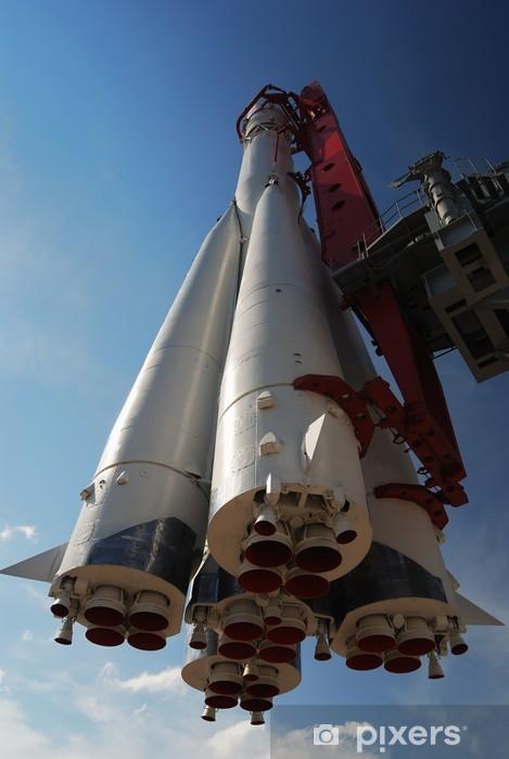 Naklejka Pixerstick Pomnik rakiety kosmicznej - Tematy
