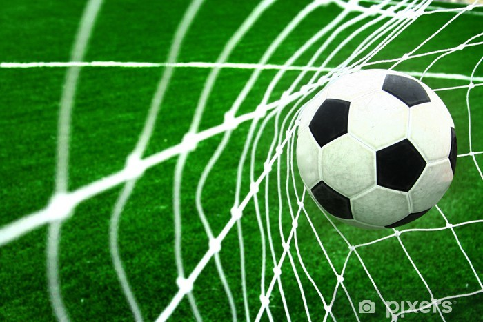 soccer Pixerstick Sticker -