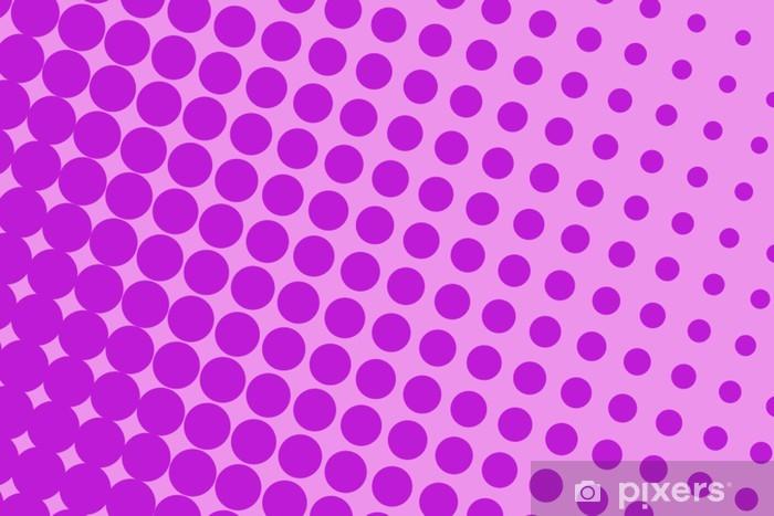 Sticker Pixerstick Violet pop art - Styles