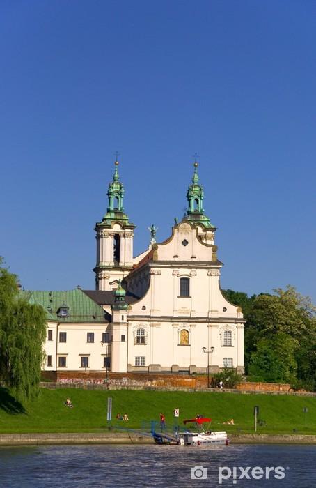 Papier peint vinyle St. Bernhard Kirche - Cracovie - Polen - Europe
